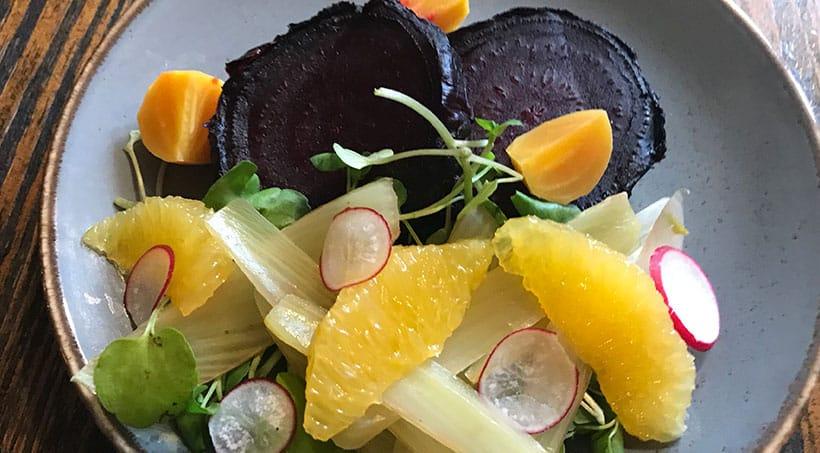 Salted Beetroot Salad